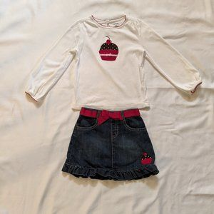 Gymboree Cupcake Outfit